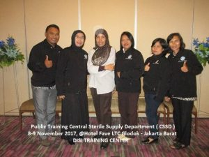 Training CSSD - Central Sterile Supply Department