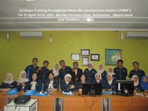 Training Peningakatan Mutu dan Keselamatan Pasien (PMKP)