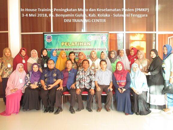 Training Peningkatan Mutu dan Keselamatan Pasien (PMKP)