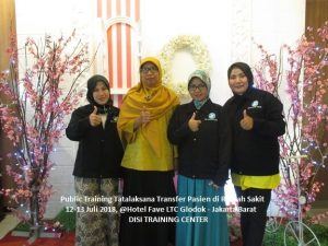 Training Tatalaksana Transfer Pasien di Rumah Sakit