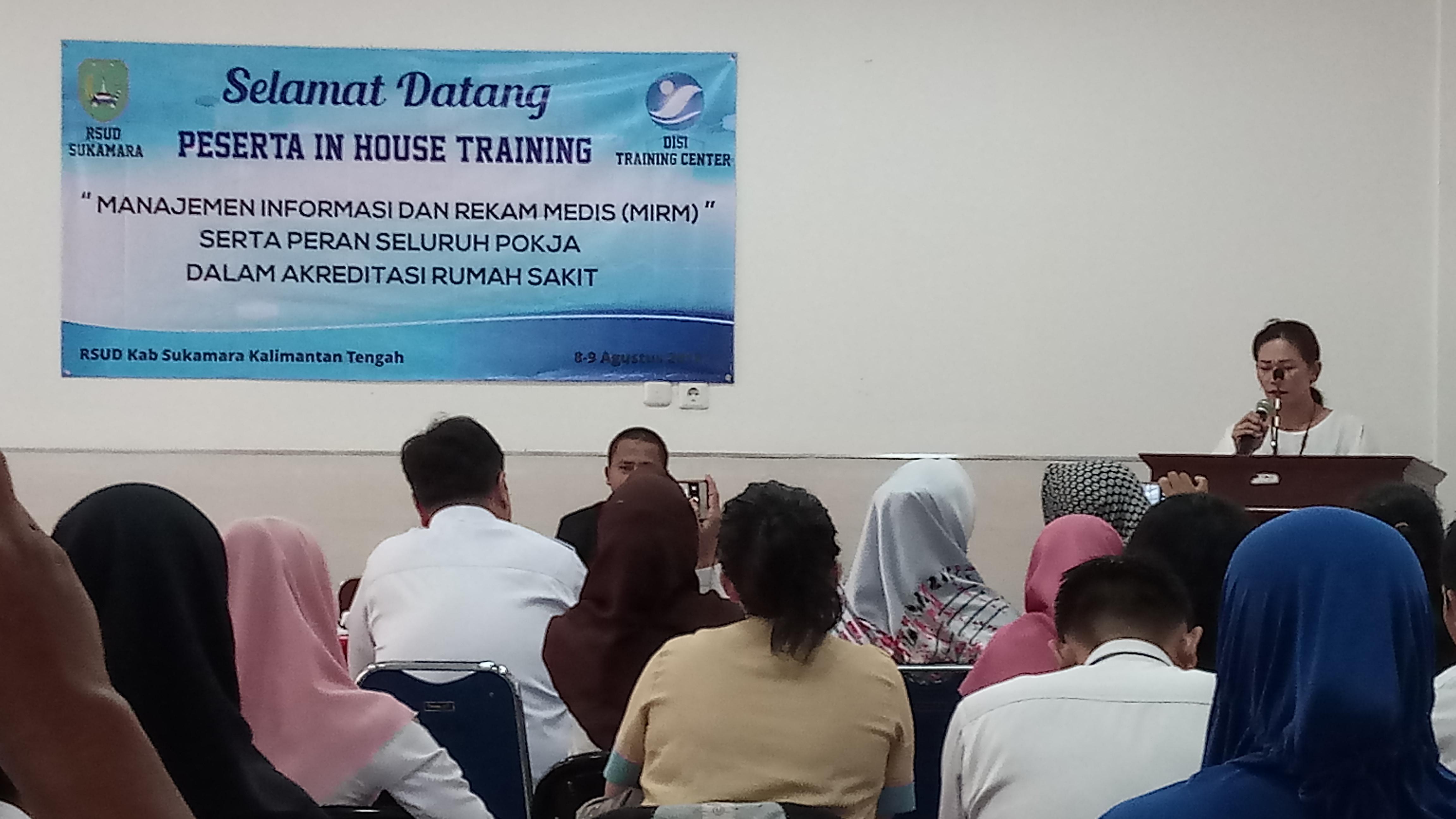 Training Manajemen Informasi dan Rekam Medis (MIRM)