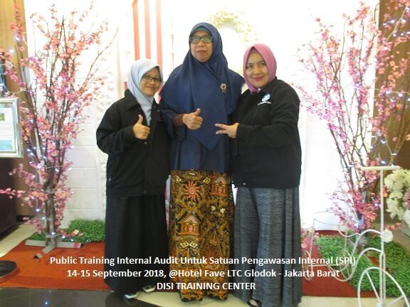 Training Internal Audit Untuk Satuan Pengawasan Internal (SPI)