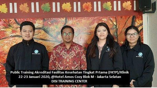 Training AKreditasi Puskesmas dan Fasiltas Kesehatan