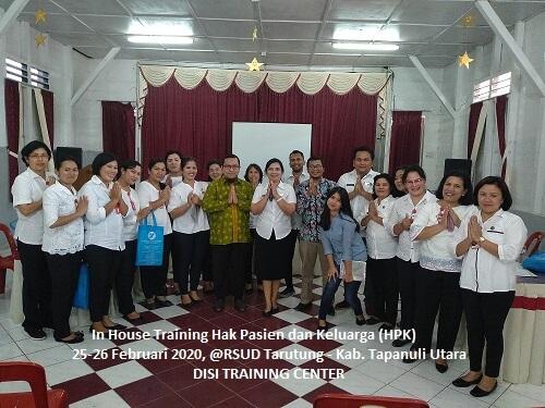 Training Hak Pasien dan Keluarga (HPK) di Rumah Sakit